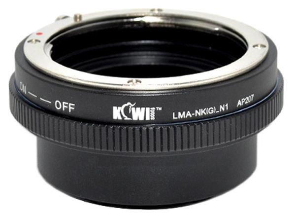 KIWI adaptér objektivu Nikon G na tělo Nikon 1