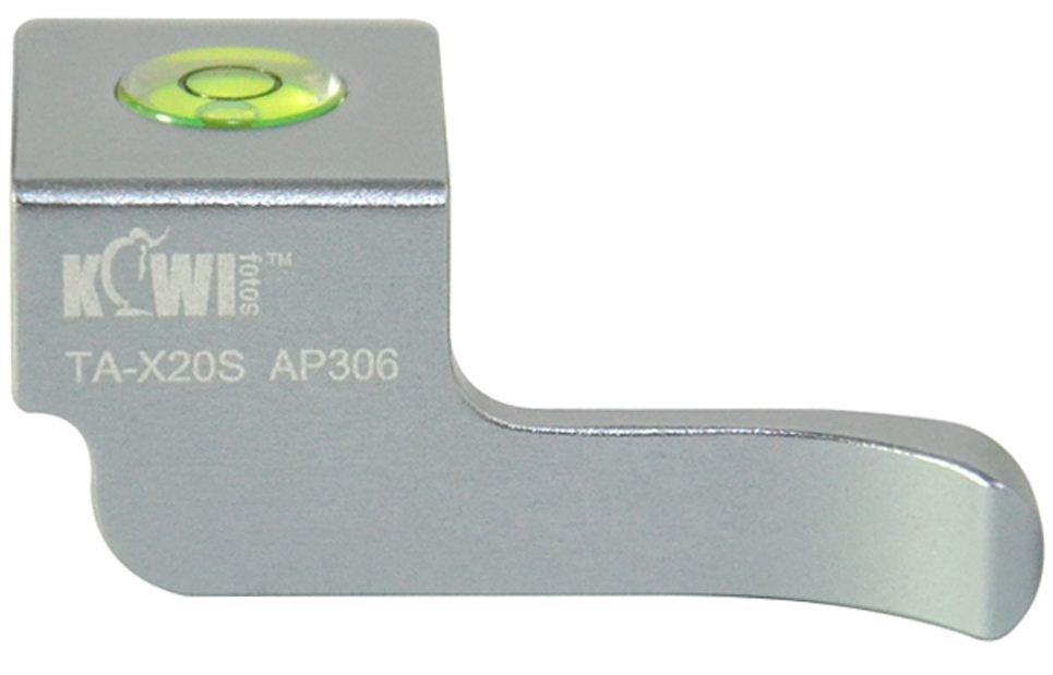 KIWI Thumb up grip TA-X20S pro Fujifilm X10/20/30 stříbrný