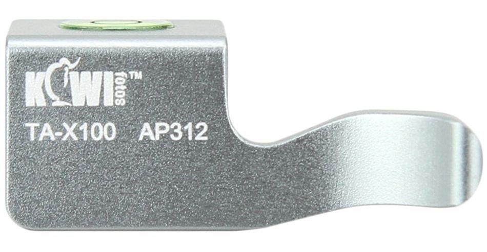 KIWI Thumb up grip TA-X100 pro Fujifilm X100/100s/100T stříbrný