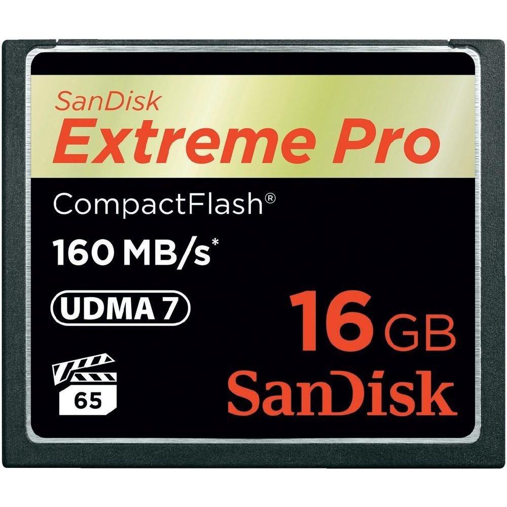 SANDISK CF 16GB EXTREME PRO 160 MB/s UDMA 7