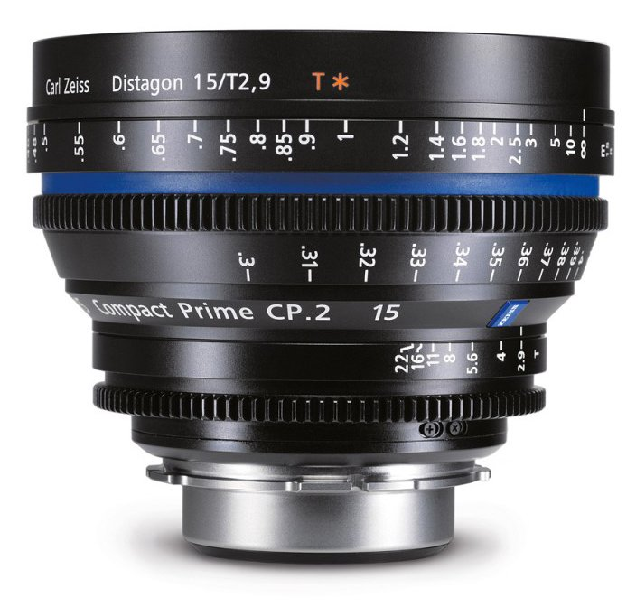 ZEISS CP.2 15 mm T2,9 Distagon T* F-mount