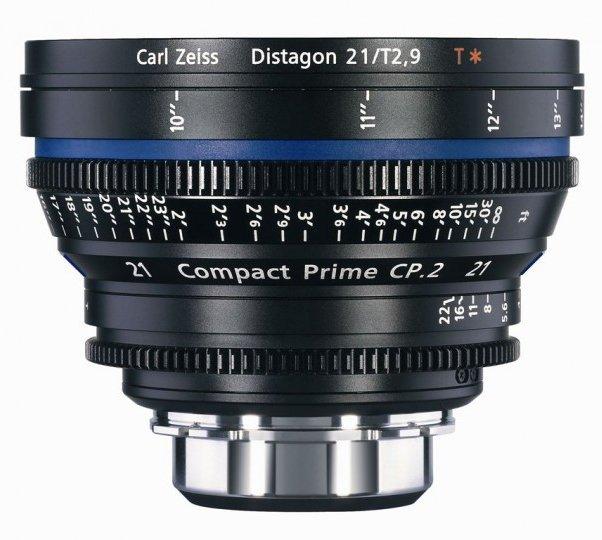 ZEISS CP.2 21 mm T2,9 Distagon T* MFT-mount