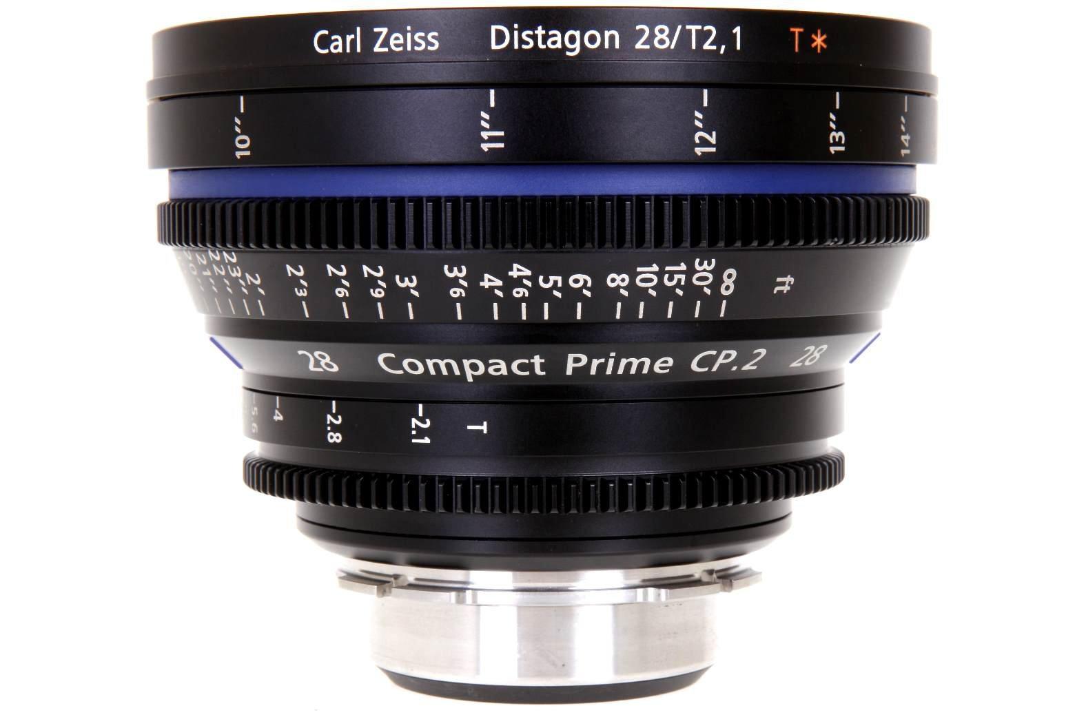 ZEISS CP.2 28 mm T2,1 Distagon T* MFT-mount
