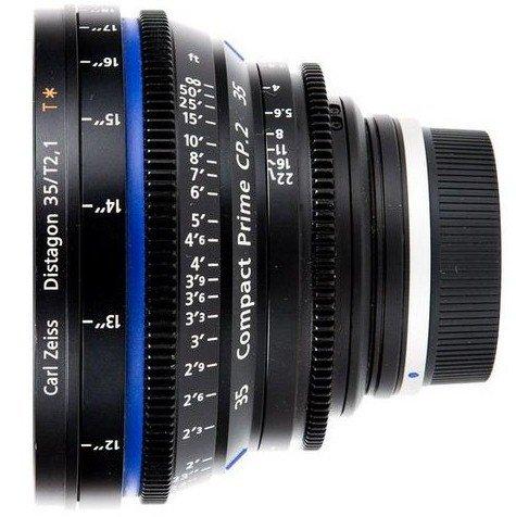 ZEISS CP.2 35 mm T2,1 Distagon T* MFT-mount