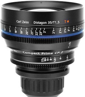 ZEISS CP.2 35 mm T1,5 Super Speed Distagon T* E-mount