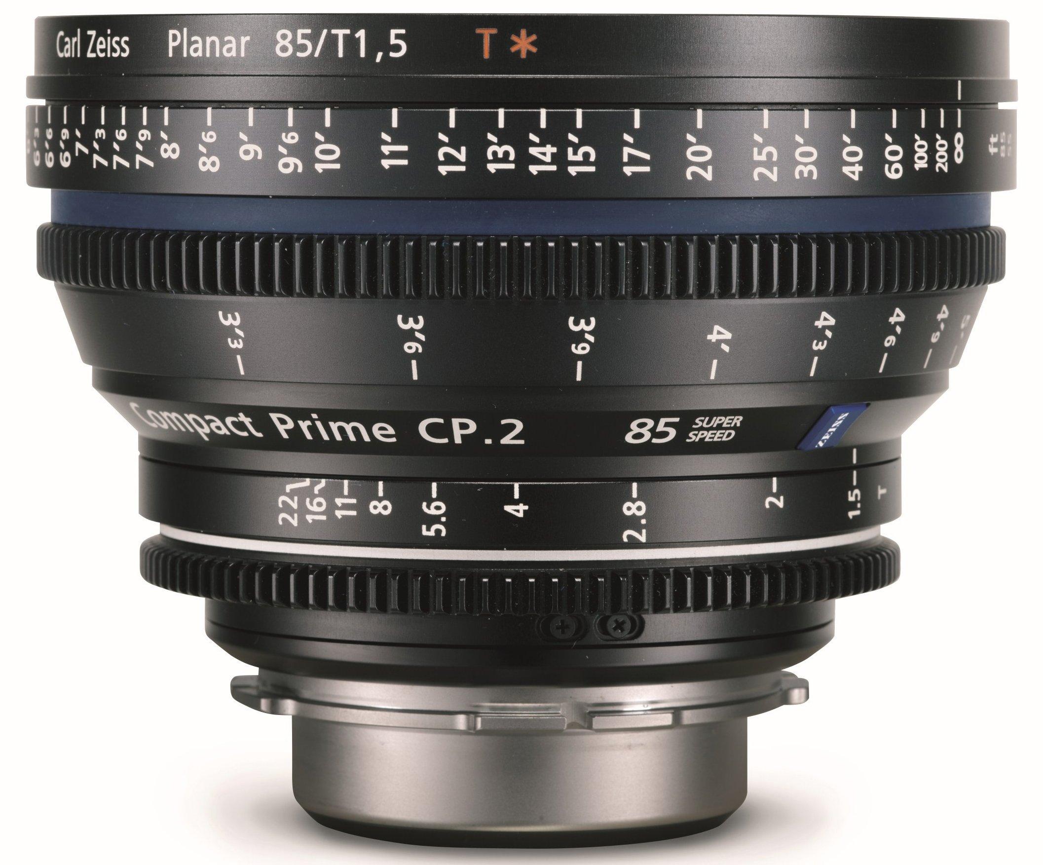 ZEISS CP.2 85 mm T1,5 Super Speed Planar T* EF-mount