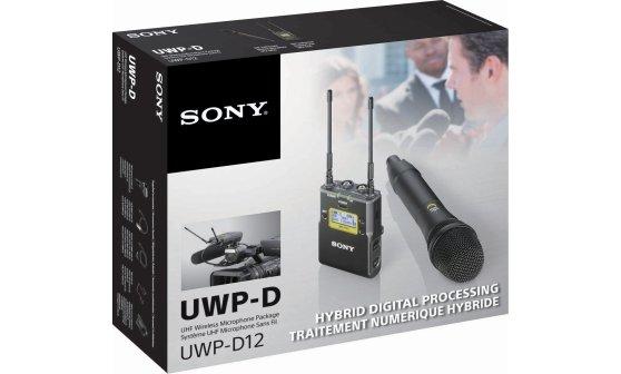 SONY UWP-D12 bezdrátová sada s handheld mikrofonem