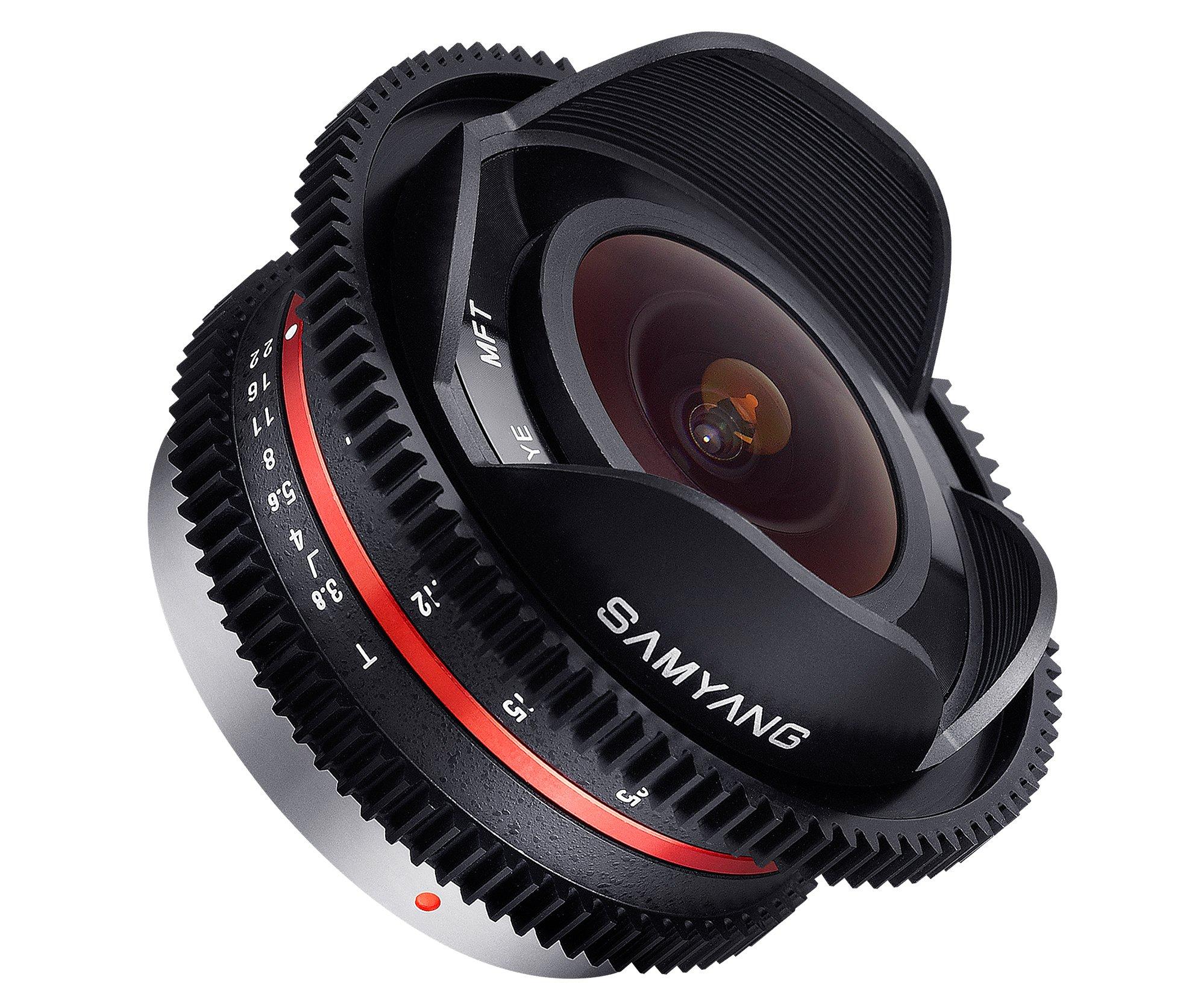 SAMYANG 7,5 mm T3,8 UMC Fish-eye pro Olympus/Panasonic MFT