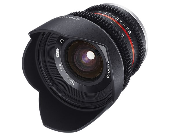 SAMYANG 12 mm T2,2 Cine NCS CS pro Sony E (APS-C)