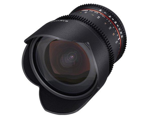 SAMYANG 10 mm T3,1 VDSLR ED AS NCS CS II pro Nikon F (APS-C)