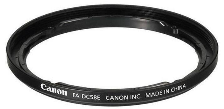 CANON FA-DC58E adaptér na filtry pro PS G1X Mark II