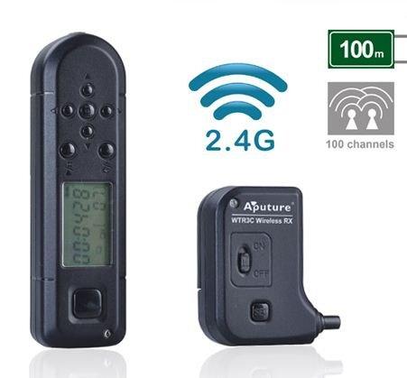 APUTURE spoušť rádiová s časosběrem Pro Coworker II 3C pro Canon EOS 6D/5D/1D