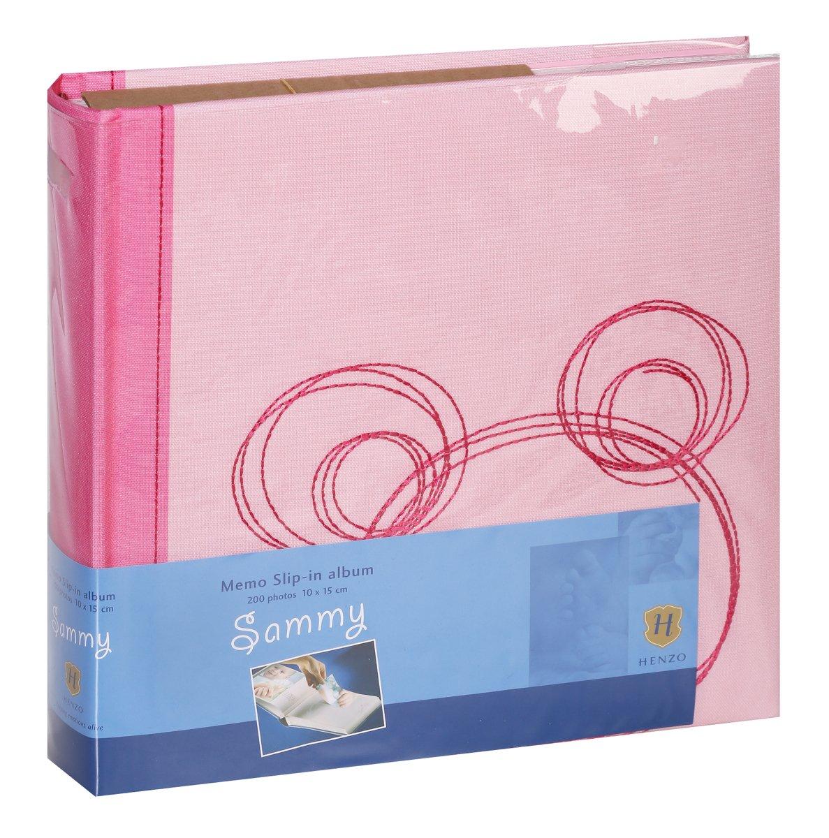 HENZO SAMMY 10x15/200, dětské, růžová, popisové pole