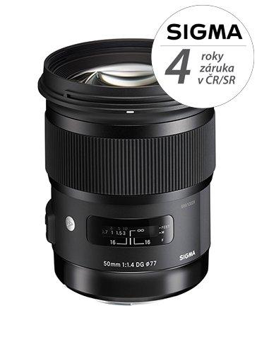 SIGMA 50 mm f/1,4 DG HSM Art pro Sony A