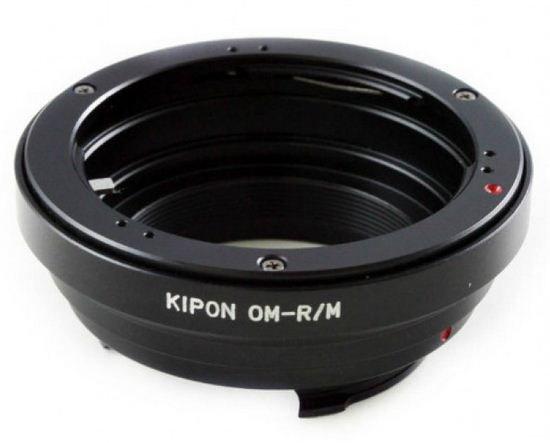 KIPON adaptér objektivu Olympus OM na tělo Leica M