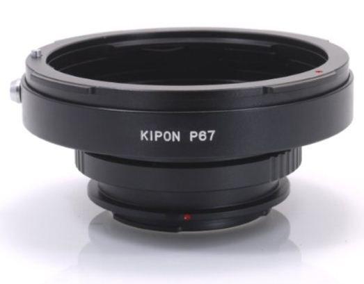 KIPON adaptér objektivu Pentax 67 na tělo Sony A