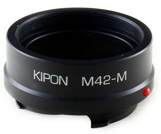 KIPON adaptér objektivu M42 na tělo Leica M