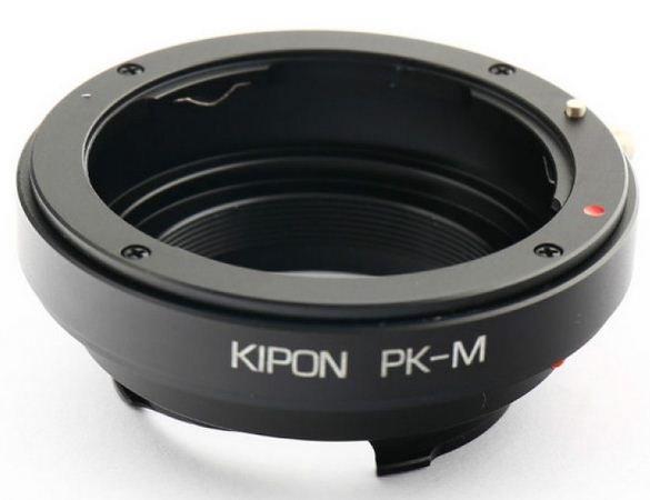 KIPON adaptér objektivu Pentax K na tělo Leica M