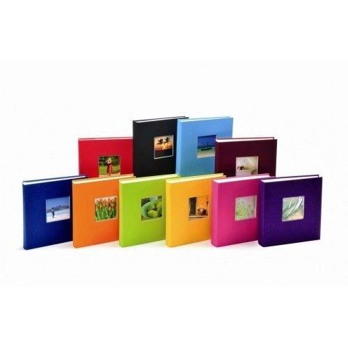GOLDBUCH BELLA VISTA  klasické/40 stran, 25x30, mix.barev, černé listy
