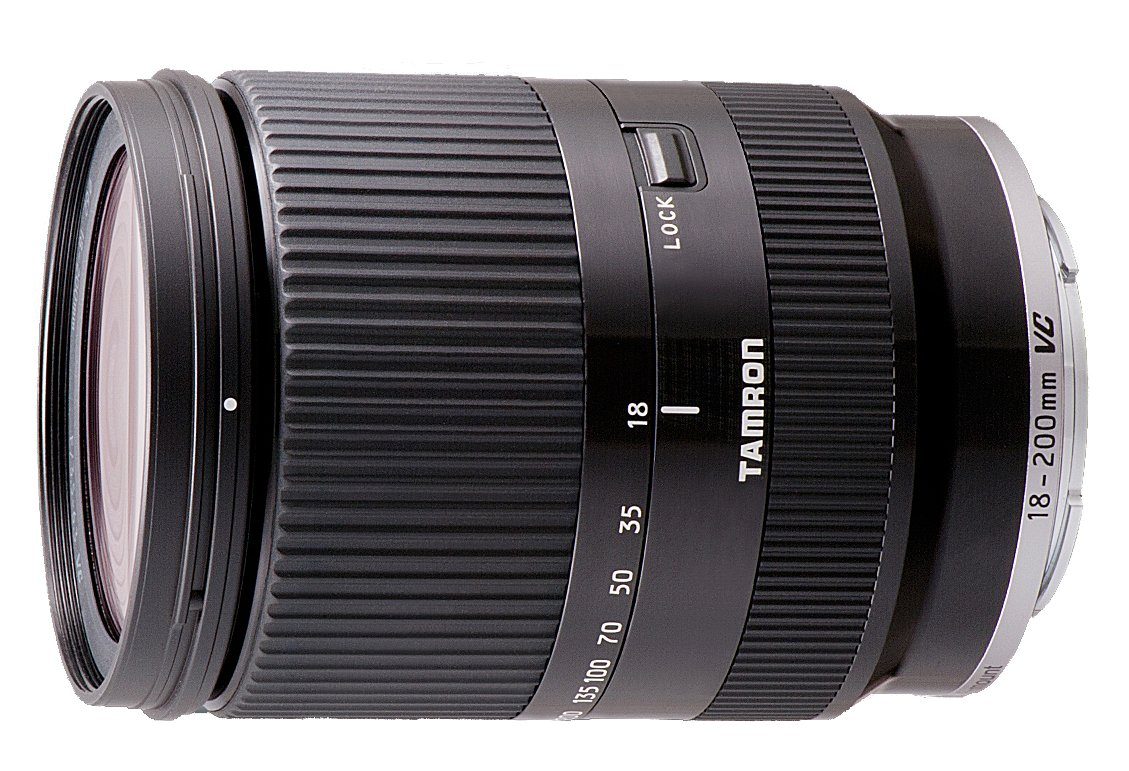 TAMRON 18-200 mm f/3,5-6,3 Di III VC černý pro Canon EF-M