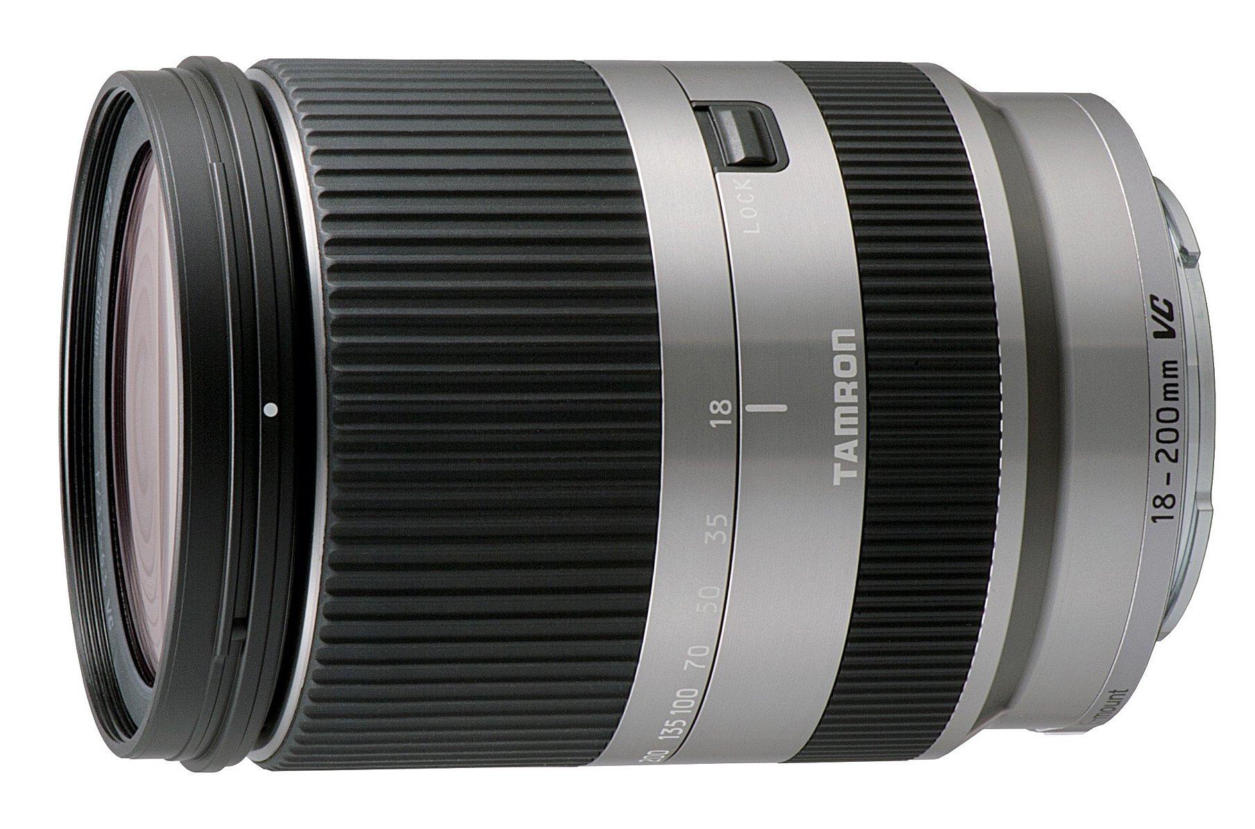 TAMRON 18-200 mm f/3,5-6,3 Di III VC stříbrný pro Canon EOS M