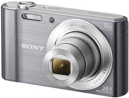 SONY CyberShot DSC-W810 stříbrný