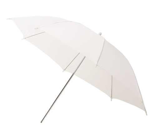 HELIOS bílý difuzní deštník 100cm