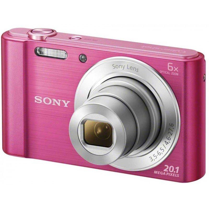 SONY CyberShot DSC-W810 růžový
