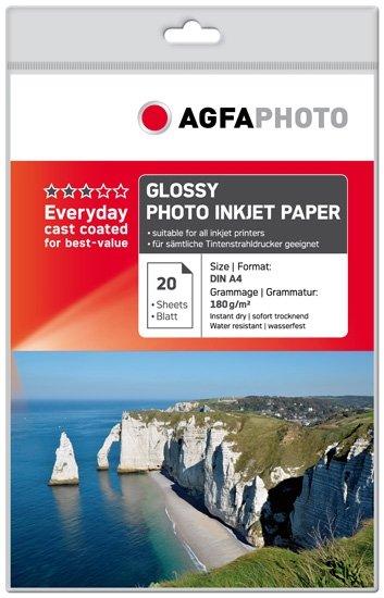 AGFA inkjet 180g Glossy Everyday 10x15/20 - křivý střih
