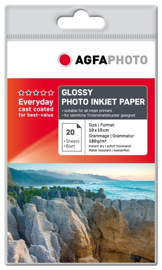 AGFA inkjet 180g Glossy Everyday A4/20