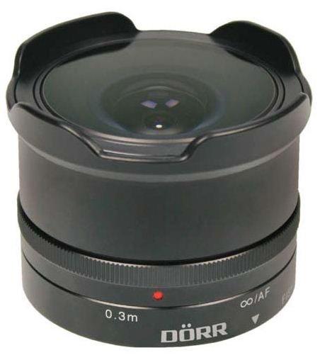 DORR 9,3 mm f/8 Fisheye pro Olympus/Panasonic MFT