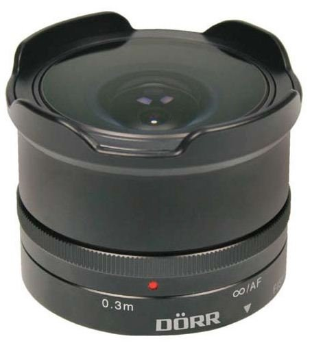 DORR 12 mm f/7,4 Fisheye pro Sony E (APS-C)