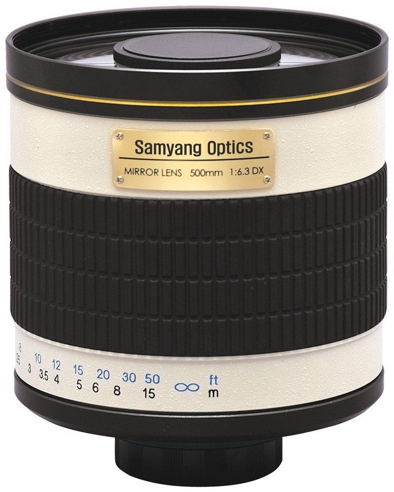 SAMYANG 500 mm f/8 Mirror IF MC pro Canon EOS M