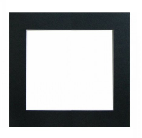 WALTHER - pasparta 30x30, černá
