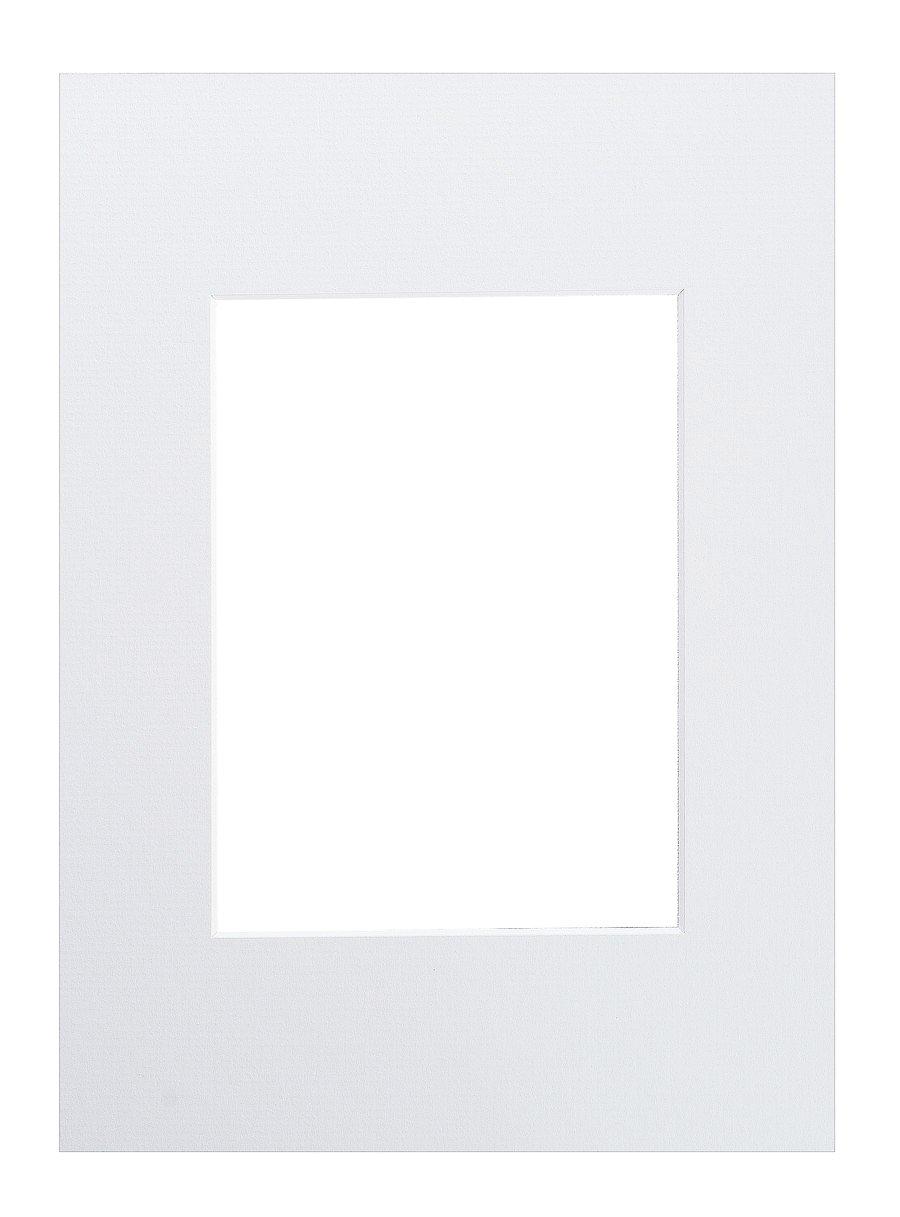 Nielsen pasparta 30x45/21x30, bílá