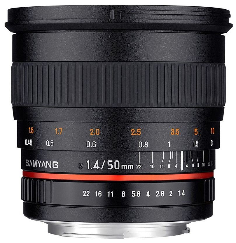 SAMYANG 50 mm f/1,4 AS UMC pro Canon EOS