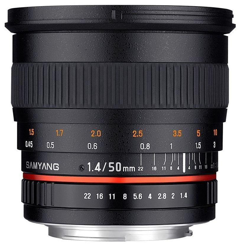 SAMYANG 50 mm f/1,4 AS UMC pro Nikon F