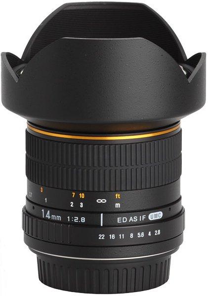 SAMYANG 14 mm f/2,8 ED AS IF UMC pro Canon EF-M