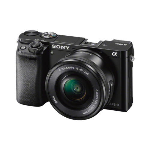 SONY Alpha A6000 černý + 16-50 mm + karta 16GB
