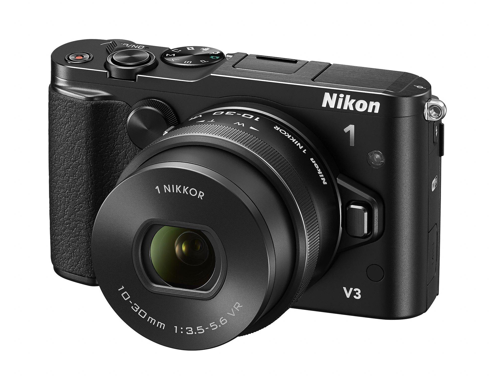 NIKON 1 V3 černý + 10-30 mm VR PD