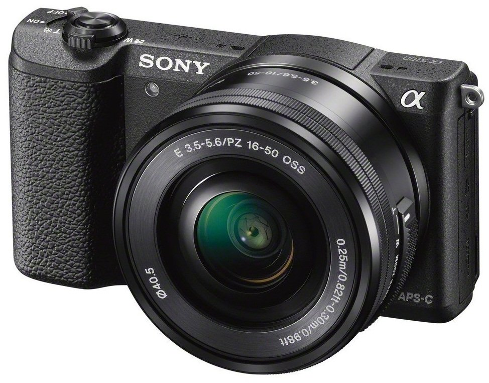 SONY Alpha A5100 černý + 16-50 mm + 55-210 mm