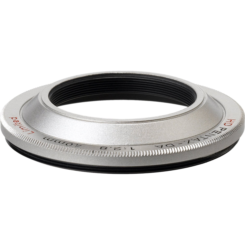 PENTAX sluneční clona MH-RE49 silver pro 40/2,8 DA HD