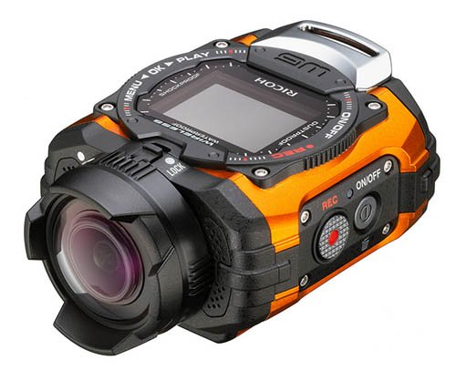 RICOH WG-M1 oranžový