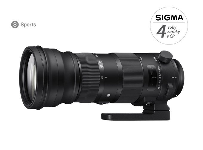 SIGMA 150-600 mm f/5-6,3 DG OS HSM Sports pro Canon