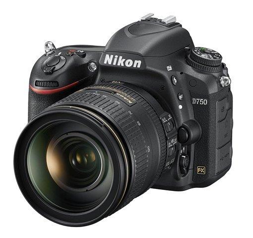 NIKON D750 + 24-120 mm VR + získejte zpět 2700 Kč