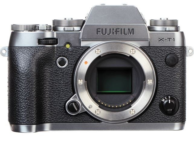FUJIFILM X-T1 kovově stříbrný