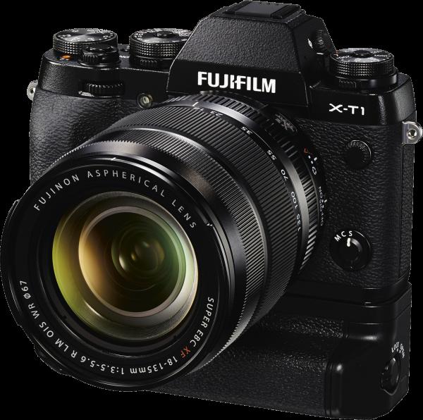 FUJIFILM X-T1 černý + 18-135 mm + získejte zpět 8000 Kč
