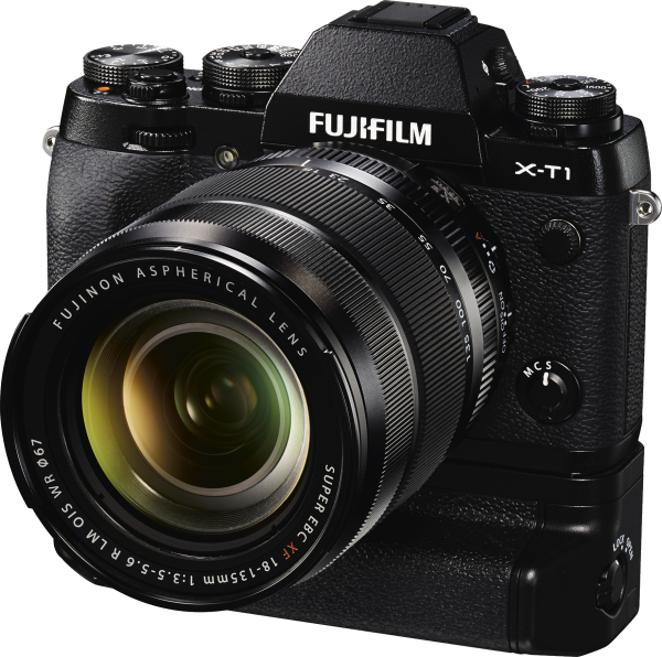 FUJIFILM X-T1 černý + 18-135 mm