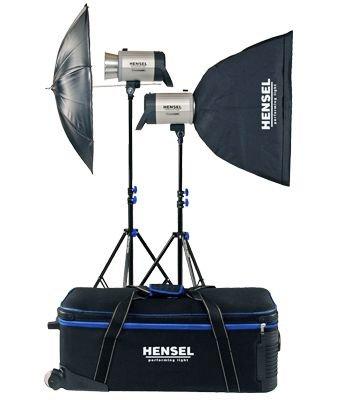 HENSEL Integra Plus KIT 2x1000Ws + příslušenství