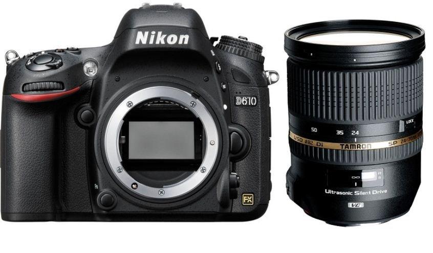 NIKON D610 + TAMRON 24-70 mm VC